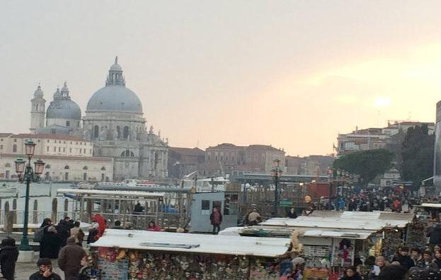 Solnedgang i Venedig